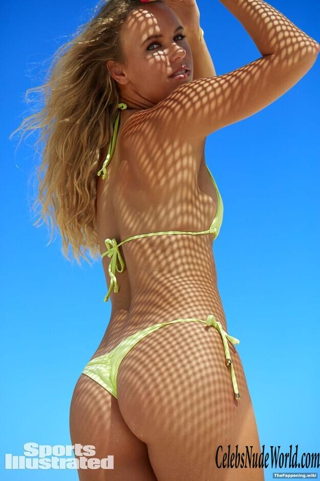 Naked wozniacki Who Has