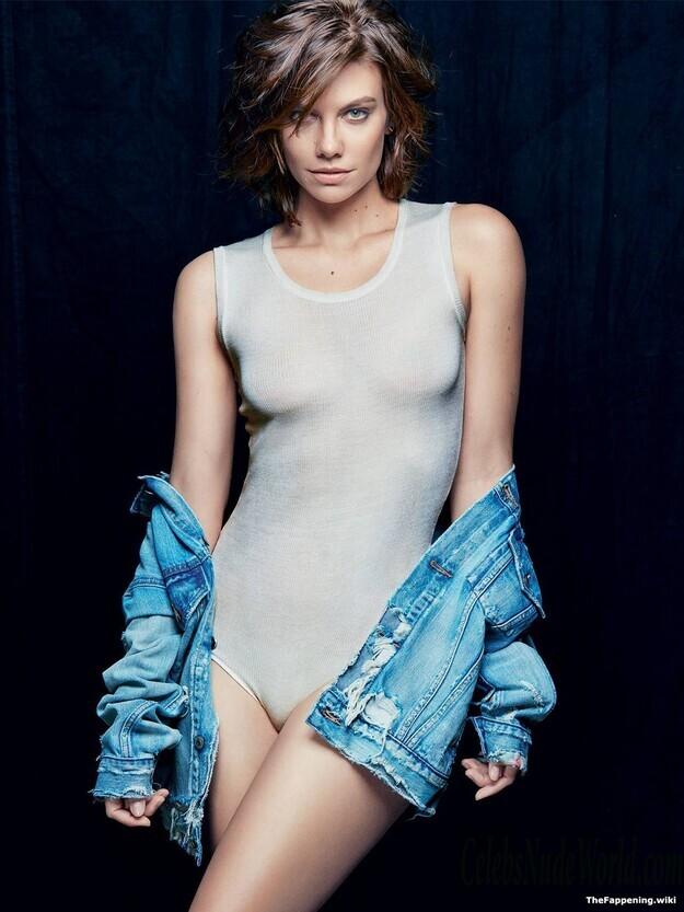 Lauren Cohan  nackt