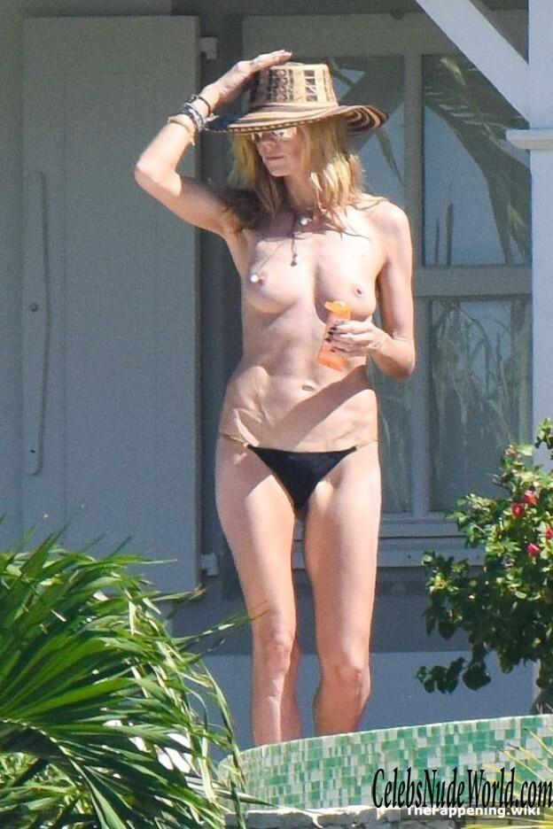 Klumm nude heidi Heidi Klum