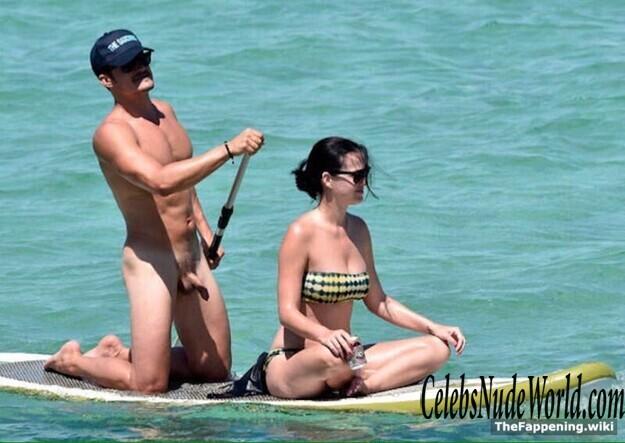 Nackt orlando blomm Miranda Kerr