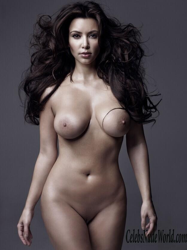 Kim Kardashian Nud