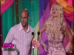 Anna Nicole Smith Mtv Movie Awards sexy dress