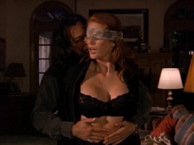Angie everhart sex scene lesbian really