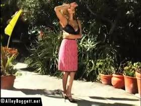ALLEY BAGGETT Blush sexy