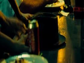 Zoe Saldana Topless Hot Scene