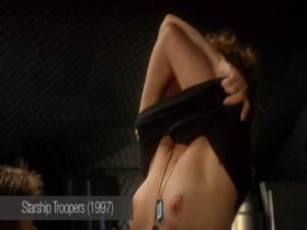 Dina Meyer nude scene 1