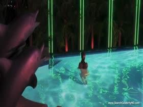 Elizabeth Berkley Nude Scenes - Showgirls - HD