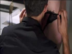 Celeb Justine Joli sex scene