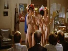 Susan Stewart,Jane Ralston,Alexandra Morgan in The First Nudie Musical (1976)