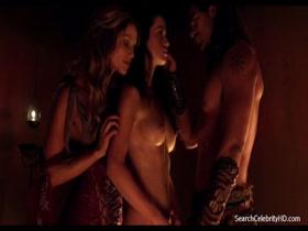 Ellen Hollman And Gwendoline Taylor Nude Spartacus S03e03