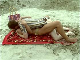 Mirja Boes Hat Sex Am Strand