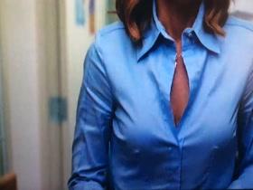 Dana Scully X-Files rock hard nipples
