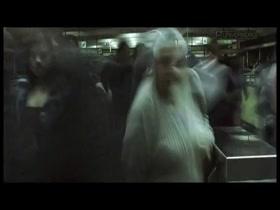 Iazua Larios full frontal in Machine (2006)