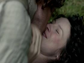 Caitriona Balfe Outlander s01e08 (2014) HD 720p