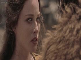 Rachel Nichols (Monique Ganderton) Conan The Barbarian (2011) 720p Body Double