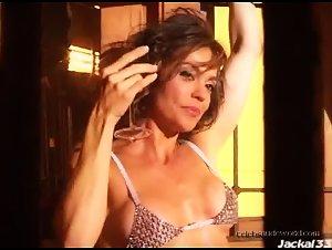 Flavia Monteiro in Playboy shooting (2006)