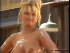 Tatjana Simic in Playboy shooting (1993)