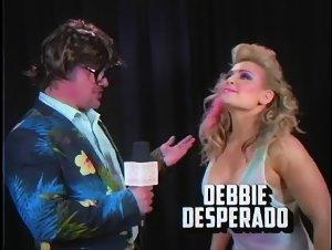 Debbie Desperado Southpaw Regional Wrestling (natalya) (80's Parody) (WWE)