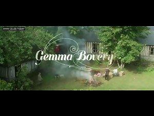Gemma Arterton - Sex Scene, Topless & Lingerie - Gemma Bovery (2014)